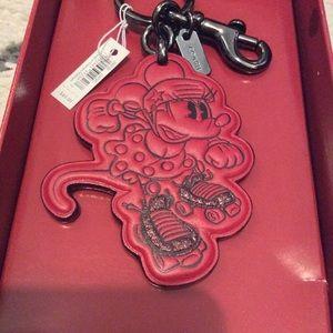 NWT Coach + Disney Co-lab keychain